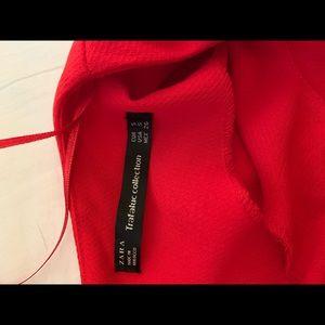 Zara Pants - Zara Red Romper